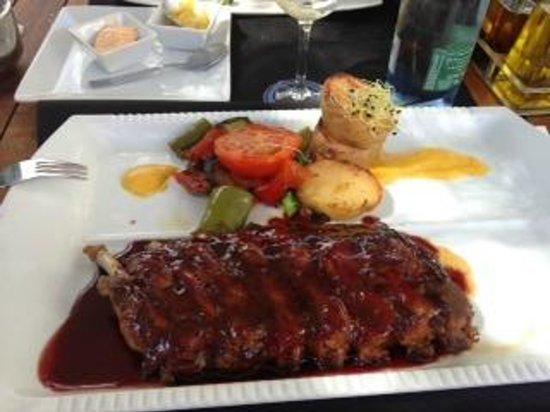 Zebra Steak & Grill : costine