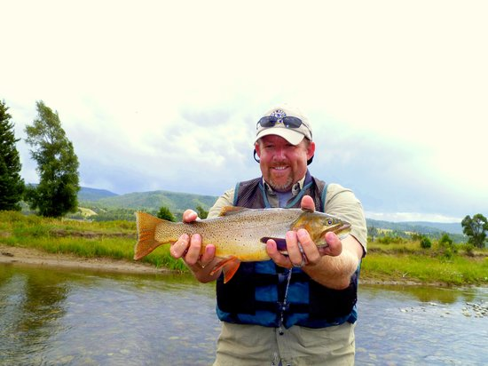 JH Trout Fly Fishing : Nice Snake River cutthroat