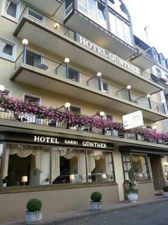 Hotel Günther Garni: front of hotel