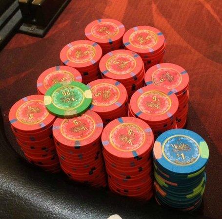 WinStar World Casino and Resort: 2/5 NL cash game