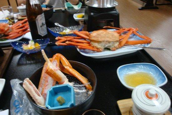 Mitsui Bekkan : 夕食 かに