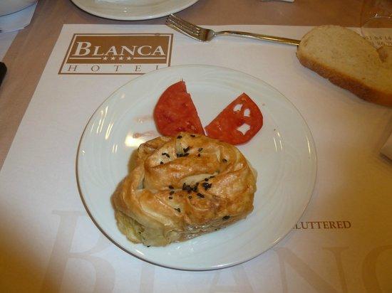 Blanca Hotel : Antipasto Turco per cena