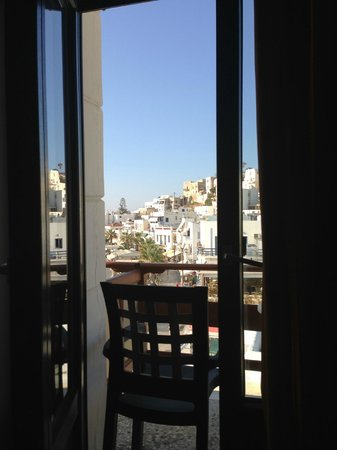 Hotel Coronis: View from the room