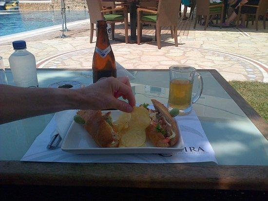 Almira Hotel: Light lunch