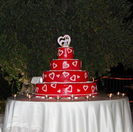 Staccoli Caffe: torta di matrimonio