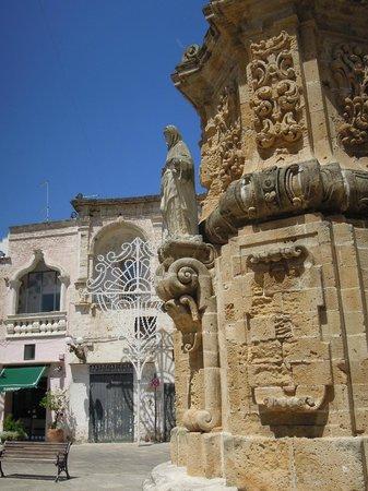 Nardo: particolare di San Domenico