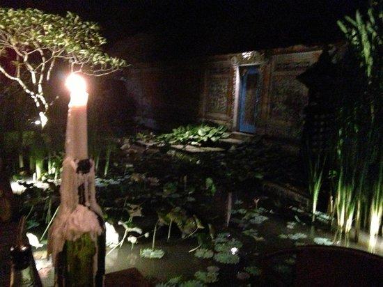 Il Giardino: La vue sur le jardin de notre table