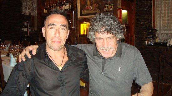 La Borda Xica: Con Enric... un amigo.