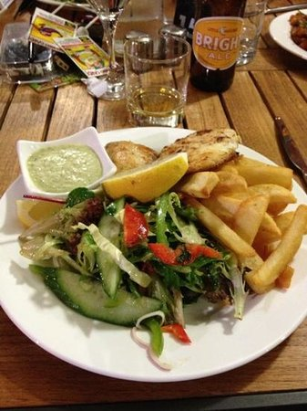 Milly's Place: Snapper & chips