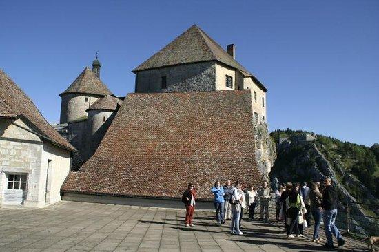 Château de Joux : At the chateau