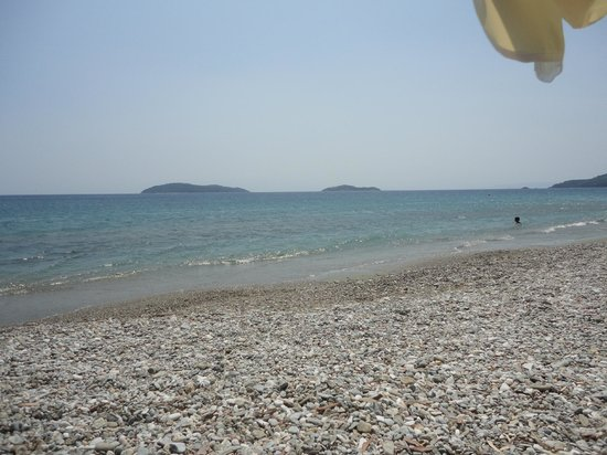 Megali Ammos Beach: sea