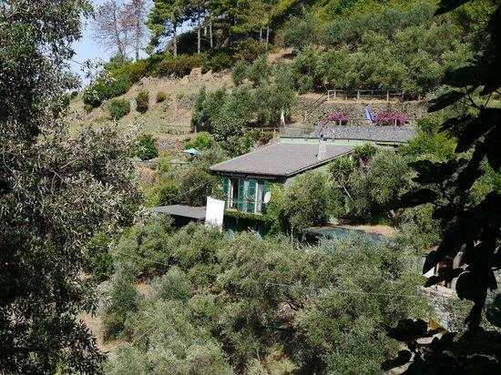 B&B Villa Pietra Fiore : la maison, ses restanques