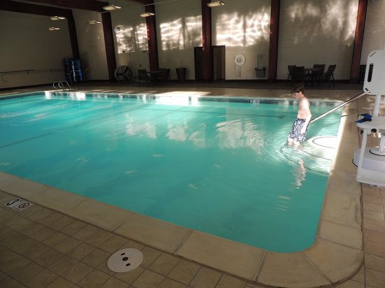 Doubletree by Hilton Hotel Denver : Pool is nice sized.