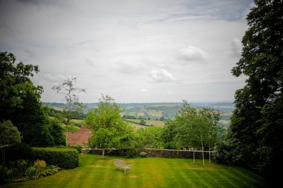 Beckfords View Bed & Breakfast: Stunning view from Room 1