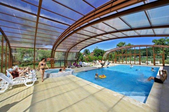 Domaine de Soleil Plage: Nouvelle piscine couverte découvrable chauffée