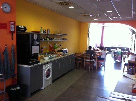 Hostel Downtown: Self-catering kitchen