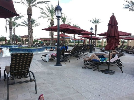 Casino Del Sol : pool ,great furniture to relax on
