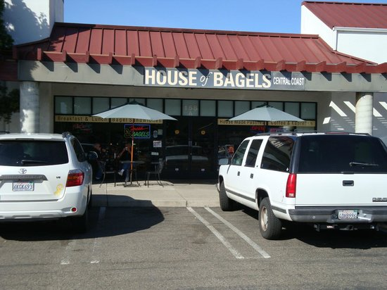 House of Bagels Central Coast: The House at 158 Higuera St