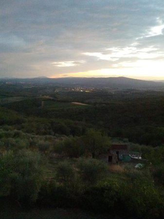 Villa Astreo: panorama dalla stanza