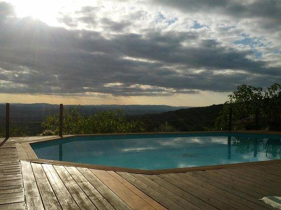 Villa Astreo: la piscina