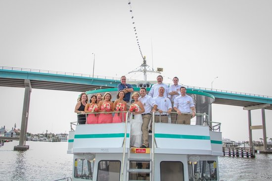 Fort Myers Princess: Our wedding party and parents