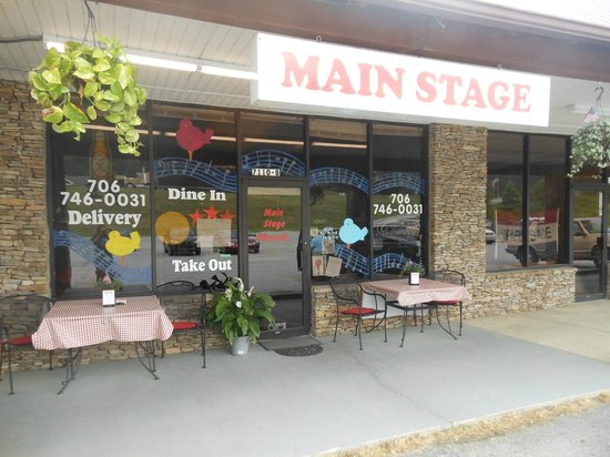 Main Stage Pizzeria: Main Stage