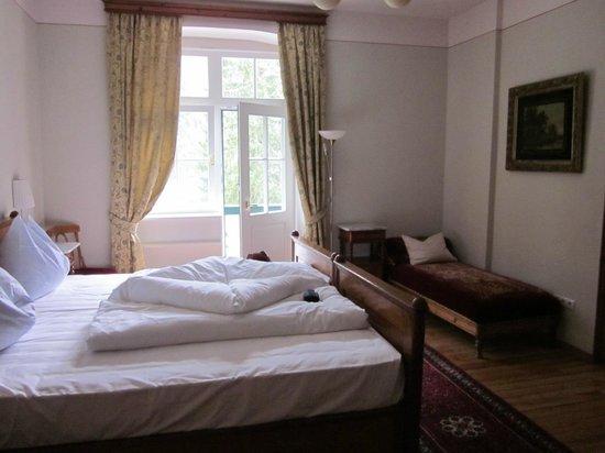 Hotel Pragser Wildsee: suite vista lago