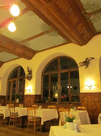 Hotel Pragser Wildsee: sala ristorante per ospiti hotel