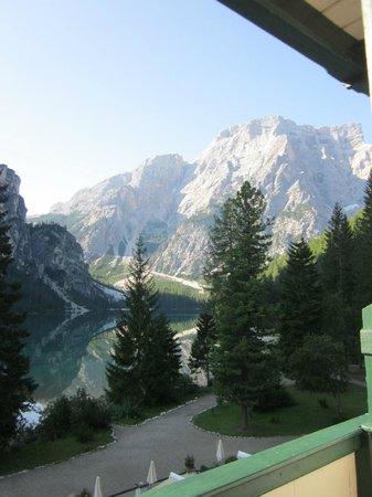 Hotel Pragser Wildsee: panorama da mozzare il fiato