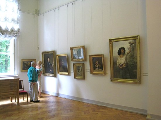Latvian National Museum Of Art: Room of 19th-century Latvian art
