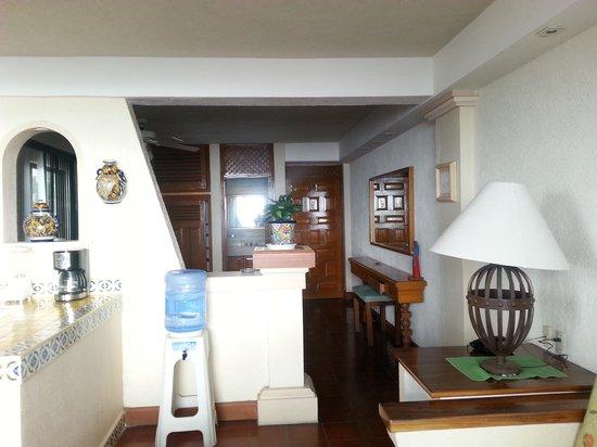 Hotel Suites la Siesta: Vista interior de la suite