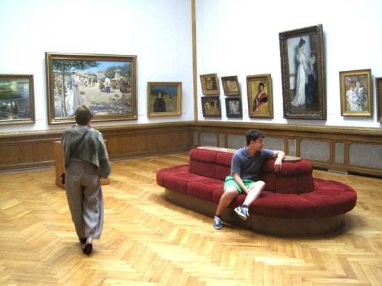 Latvian National Museum Of Art: Room of Latvian Impressionist and Symbolist art