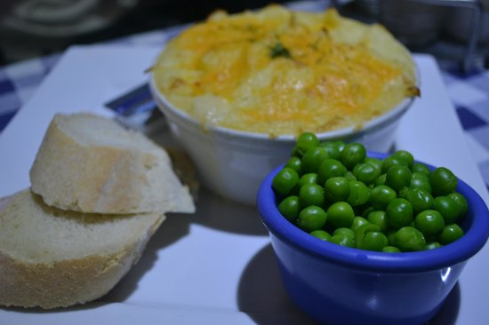 Oban Fish and Chip Shop: Fish Pie & Peas