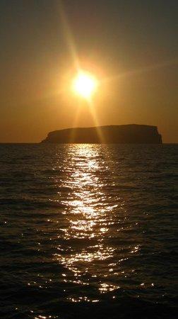 Santorini Sailing Center: Sunset!