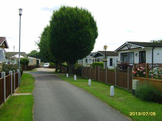 Quiet Waters Caravan Park: Residential homes