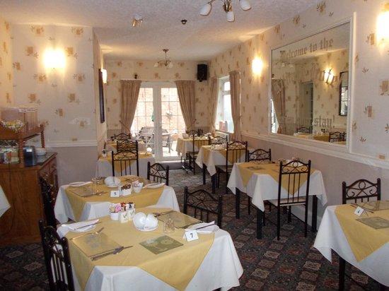 Kildare Hotel: breakfast/dining room