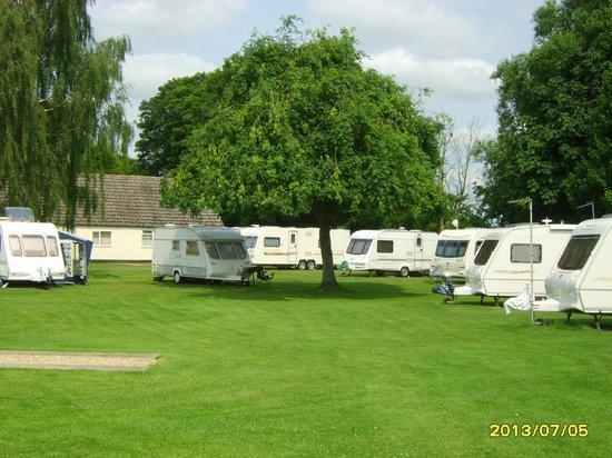 Quiet Waters Caravan Park: Touring pitches