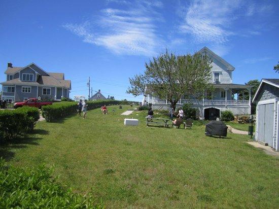 The Inn At Block Island : The Yard Between Inn at Block Island and Jane Marie