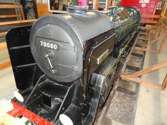 Conwy Valley Railway Museum & Model Shop : Quarter sized steam train replica Britannia