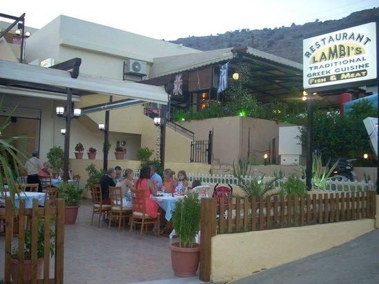Lambi's : our restaurant