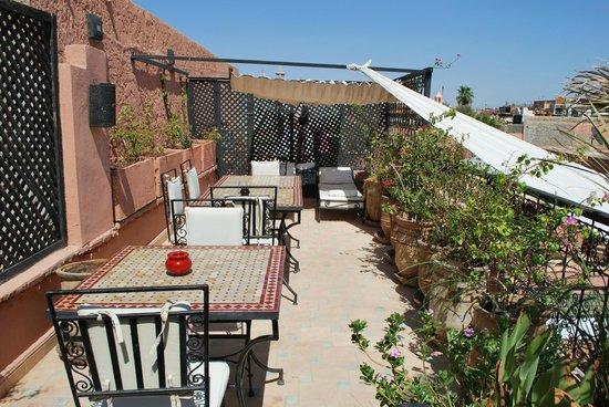 Riad Jona : La terrasse