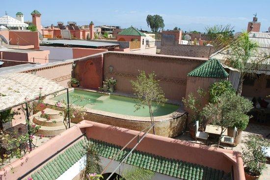 Riad Jona : La piscine très raffraichissante