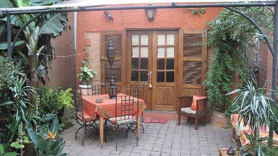 Chez Aina : vue de la terrasse