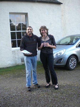 Claonairigh House: Con Fiona, la proprietaria