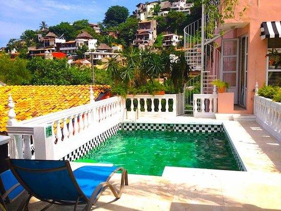 Rivera del Rio: Rooftop pool