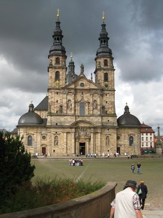 Dom zu Fulda: Front of the early 18th-century Cathedral