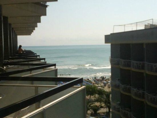 Hotel President: vista terrazzino camera 5 piano