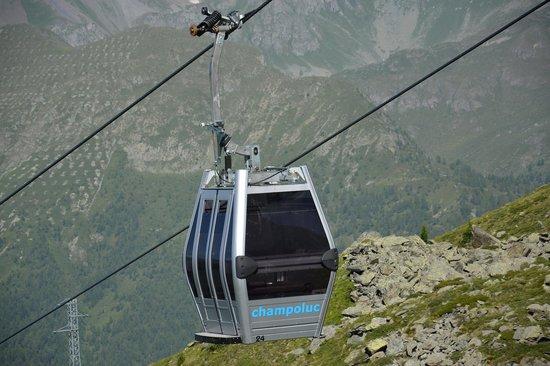 Champoluc: Arrivo Alpe OSTAFA