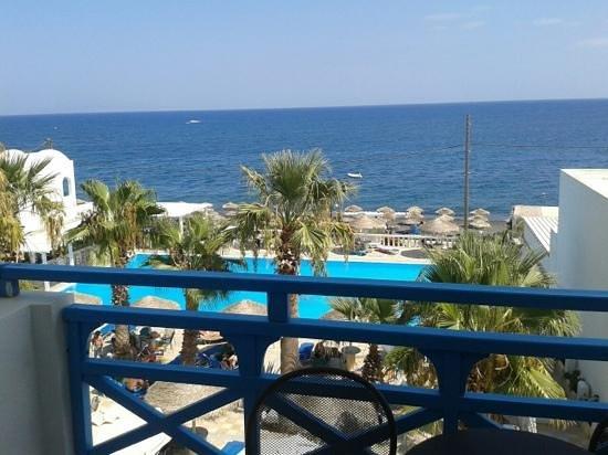Ri Beach Hotel Santorini Picture Of