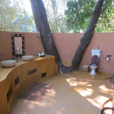 Sausage Tree Camp : Bathroom